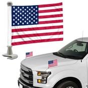 United States, USA Ambassador Flags 4 x 6 - American Flag