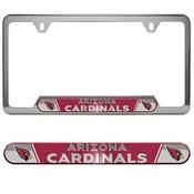 NFL - Arizona Cardinals Embossed License Plate Frame 12.25 x 6.25 - Primary Logo and Wordmark