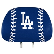 MLB - Los Angeles Dodgers Printed Headrest Cover 14 x 10 -