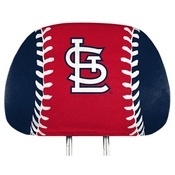 MLB - St. Louis Cardinals Printed Headrest Cover 14 x 10 -