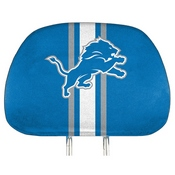 NFL - Detroit Lions Printed Headrest Cover 14 x 10 - Lions Primary Logo