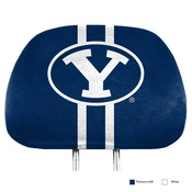 Brigham Young Printed Headrest Cover 14 x 10 -