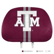 Texas A&M University Printed Headrest Cover 14 x 10 -