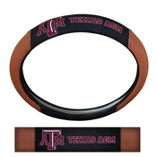 Texas A&M University Sports Grip Steering Wheel Cover 14.5 to 15.5 - Primary Logo and Wordmark