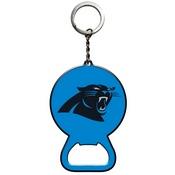 NFL - Carolina Panthers Keychain Bottle Opener 3 x 3 - Panthers Primary Logo