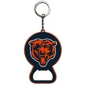 NFL - Chicago Bears Keychain Bottle Opener 3 x 3 - Bear Head Logo