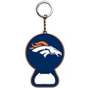 NFL - Denver Broncos Keychain Bottle Opener 3 x 3 - Broncos Primary Logo