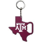 Texas A&M University Keychain Bottle Opener 3 x 3 -