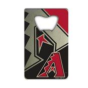 MLB - Arizona Diamondbacks Credit Card Bottle Opener 2 x 3.25 - Diamondbacks Primary Logo