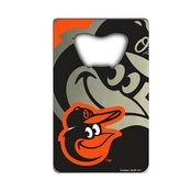 MLB - Baltimore Orioles Credit Card Bottle Opener 2 x 3.25 - Cartoon Oriole Logo