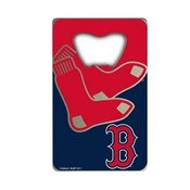 MLB - Boston Red Sox Credit Card Bottle Opener 2 x 3.25 - Primary and Alternate Logo