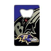 NFL - Baltimore Ravens Credit Card Bottle Opener 2 x 3.25 - Ravens Primary Logo