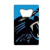 NFL - Carolina Panthers Credit Card Bottle Opener 2 x 3.25 - Panthers Primary Logo