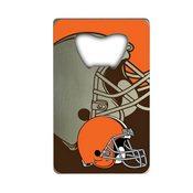 NFL - Cleveland Browns Credit Card Bottle Opener 2 x 3.25 - Browns Primary Logo