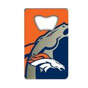 NFL - Denver Broncos Credit Card Bottle Opener 2 x 3.25 - Broncos Primary Logo