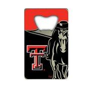 Texas Tech University Credit Card Bottle Opener 2 x 3.25 -