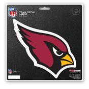 NFL - Arizona Cardinals Large Decal 8 x 8 -