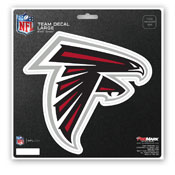 NFL - Atlanta Falcons Large Decal 8 x 8 -