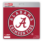 University of Alabama Large Decal 8 x 8 -