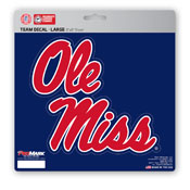 University of Mississippi (Ole Miss) Large Decal 8 x 8 -