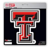 Texas Tech University Large Decal 8 x 8 -