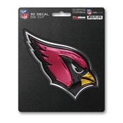 NFL - Arizona Cardinals 3D Decal 5 x 6.25 -