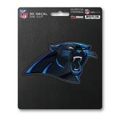 NFL - Carolina Panthers 3D Decal 5 x 6.25 -