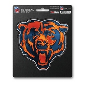 NFL - Chicago Bears 3D Decal 5 x 6.25 -