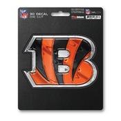 NFL - Cincinnati Bengals 3D Decal 5 x 6.25 -