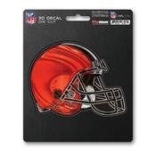 NFL - Cleveland Browns 3D Decal 5 x 6.25 -