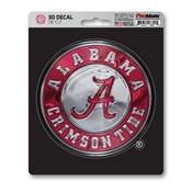 University of Alabama 3D Decal 5 x 6.25 -