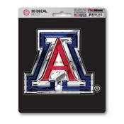 University of Arizona 3D Decal 5 x 6.25 -