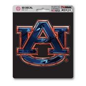 Auburn University 3D Decal 5 x 6.25 -