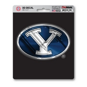 Brigham Young University 3D Decal 5 x 6.25 -