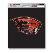Oregon State University 3D Decal 5 x 6.25 -