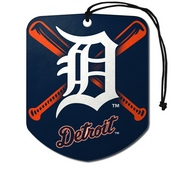MLB - Detroit Tigers Air Freshener 2-pk 2.75 x 3.5 -