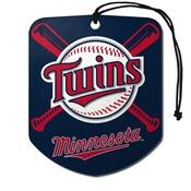 MLB - Minnesota Twins Air Freshener 2-pk 2.75 x 3.5 -