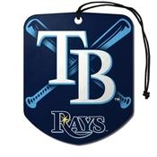 MLB - Tampa Bay Rays Air Freshener 2-pk 2.75 x 3.5 -