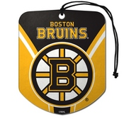 NHL - Boston Bruins Air Freshener 2-pk 2.75 x 3.5 -