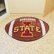 Iowa State Football Rug 20.5x32.5