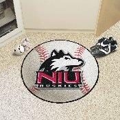 Northern Illinois Baseball Mat 27 diameter