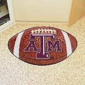 Texas A&M Football Rug 20.5x32.5