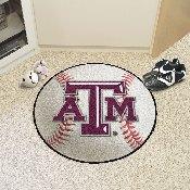 Texas A&M Baseball Mat 27 diameter