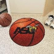 Alabama State Basketball Mat 27 diameter