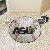 Alabama State Baseball Mat 27 diameter