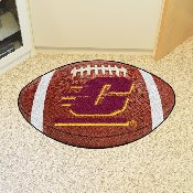 Central Michigan Football Rug 20.5x32.5