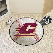 Central Michigan Baseball Mat 27 diameter