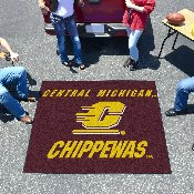 Central Michigan Tailgater Rug 5'x6'
