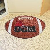 Central Missouri Football Rug 20.5x32.5