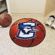 Creighton Basketball Mat 27 diameter